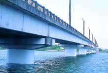 琵琶湖流域下水道湖南中部浄化センター矢橋大橋耐震補強工事