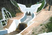 日野谷川補助通常砂防工事
