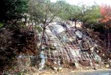 笹間ヶ岳材料運搬道路法面補修工事