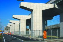 西大津BP坂本高架橋(P17-P30)下部工事