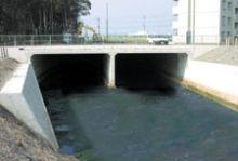 中ノ井川住宅宅地関連河川整備促進工事