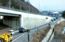 朝国第一高架橋取付改良工事 【滋賀国道工事事務所長表彰】