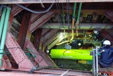 西部幹線下流9工区送水管工事