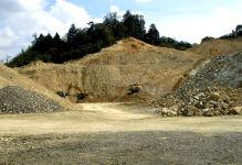 山土砂採取場